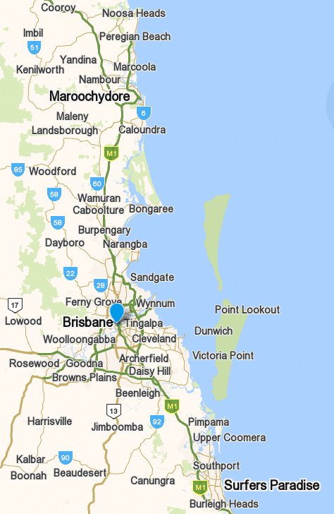 IT service area: Brisbane, Gold Coast, Sunshine Coast